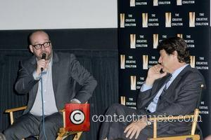 Paul Giamatti and Robert Lantos