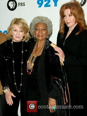 Angie Dickinson, Nichelle Nichols and Stefanie Powers