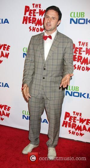 David Arquette at the opening night of the 'Pee-Wee Herman Show' held at the Club Nokia Los Angeles, USA -...