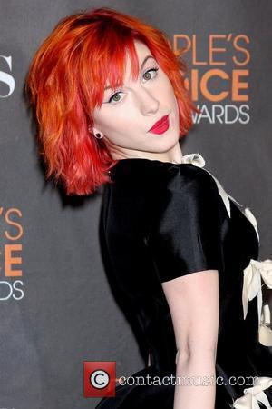 Hayley Williams People's Choice Awards 2010 held at the Nokia Theatre L.A. Live - Arrivals Los Angeles, California - 06.01.10