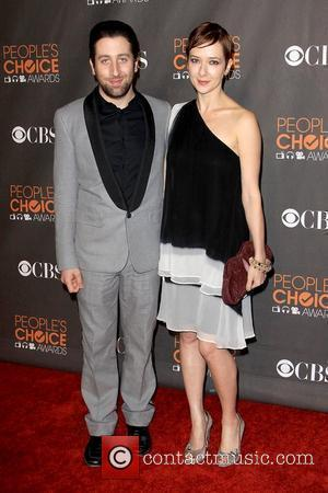 Simon Helberg and Guest People's Choice Awards 2010 held at the Nokia Theatre L.A. Live - Arrivals Los Angeles, California...