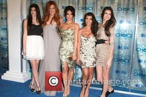 Khloe Kardashian, Kim Kardashian, Kourtney Kardashian and Kylie Jenner