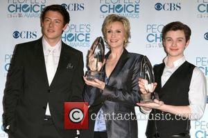 Cory Monteith, Chris Colfer and Jane Lynch