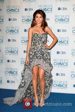 Selena Gomez, Chris Colfer and Jane Lynch