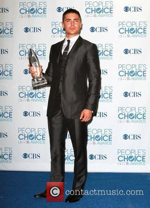 Zac Efron 2011 People's Choice Awards held at Nokia Theatre L.A. Live - Press Room Los Angeles, California - 05.01.11