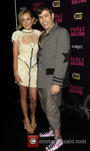 Perez Hilton and Diana Vickers