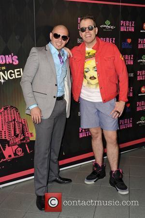 Pitbull and Perez Hilton