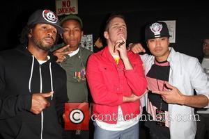 Pharrell Williams, N.e.r.d and Perez Hilton