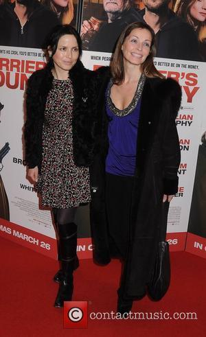Andrea Corr and Sharon Corr Irish Premiere of 'Perrier's Bounty' held at the Savoy Cinema Dublin Ireland - 10.03.10