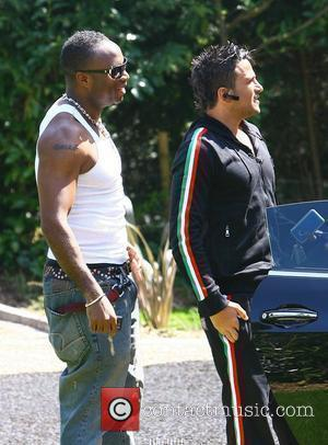 Peter Andre arriving at his new house with a camera crew Sussex, England - 23.04.10