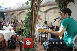 Kris Allen  KIIS FM's 7th Annual Pick Your Purse Party held at Il Cielo Restaurant Beverly Hills, California -...