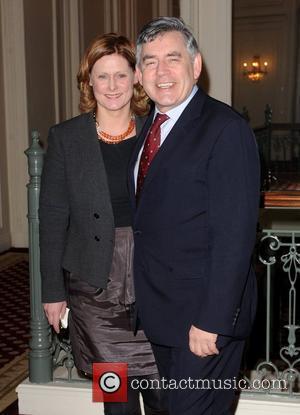 Gordon Brown, Cnn, Piers Morgan and Sarah Brown