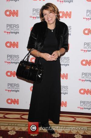 Kate Silverton, CNN and Piers Morgan