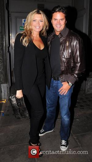Tina Hobley and Oliver Wheeler Charlotte Church new album launch 'Back To Scratch' at The Pigalle Club. London, England -...