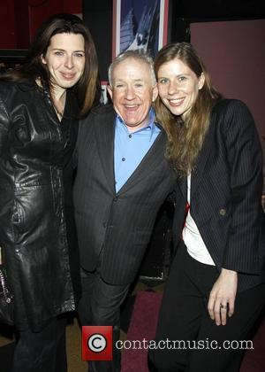 Heather Matarazzo, Leslie Jordan, and Caroline Murphy attending the opening of the off-broadway play 'My Trip Down The Pink Carpet',...