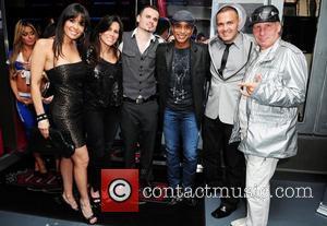 Jon Secada, Ricky C and Guests US rapper Pitbull 30th birthday celebration at Club Play Miami Beach, Florida - 15.01.11