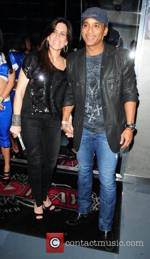 Jo Pat and Jon Secada  US rapper Pitbull 30th birthday celebration at Club Play Miami Beach, Florida - 15.01.11