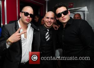 Pitbull and guests Pitbull 30th birthday celebration at Club Play  Miami Beach, Florida - 15.01.11