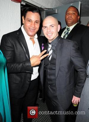 Sammy Sosa and rapper Pitbull  Pitbull 30th birthday celebration at Club Play  Miami Beach, Florida - 15.01.11