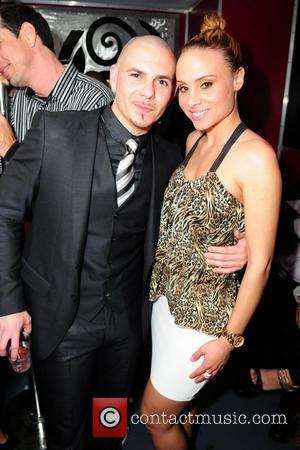 Pitbull and Lia Ames Pitbull 30th birthday celebration at Club Play  Miami Beach, Florida - 15.01.11