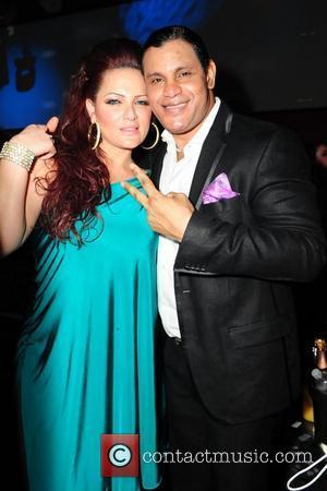 Sammy Sosa and wife Sonia Sosa  Pitbull 30th birthday celebration at Club Play  Miami Beach, Florida - 15.01.11
