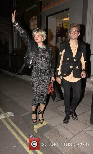 Pixie Geldolf and Marc Jacobs