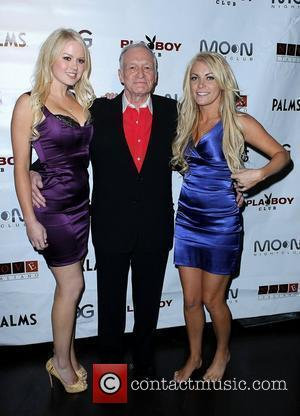Anna Berglund, Hugh Hefner and Crystal Harris Hugh Hefner hosts a Special Evening at The Playboy Club at The Palms...
