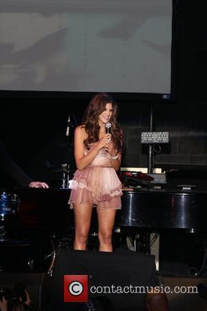 Hope Dworaczyk Playboy Announces the 2010 Playmate of the Year, Hope Dworaczyk, at Rain Nightclub at the Palms Casino Resort...