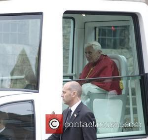 Pope Benedict Xvi and Cathedral