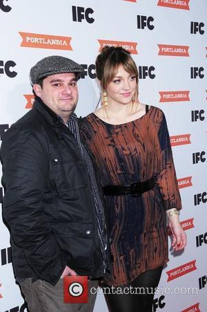 Abby Elliott and Bobby Moynihan at the special screening of Portlandia at the Edison Ballroom - Arrivals. New York City,...