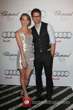 Jayma Mays and Matthew Morrison