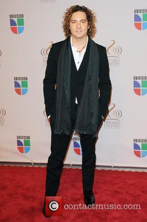 David Bisbal  Univisions 2010 Premio Lo Nuestro a La Musica Latina Awards at American Airlines Arena - Arrivals Miami,...
