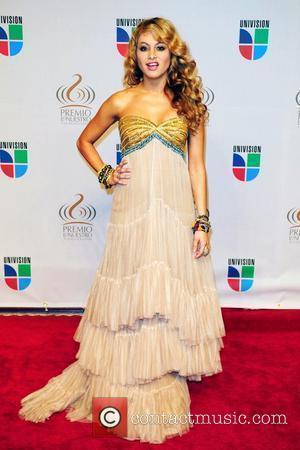 Paulina Rubio Univisions 2010 Premio Lo Nuestro a La Musica Latina Awards at American Airlines Arena - Arrivals Miami, Florida...