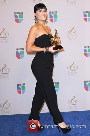 Nelly Furtado Univisions 2010 Premio Lo Nuestro a La Musica Latina Awards at American Airlines Arena - Press Room Miami,...