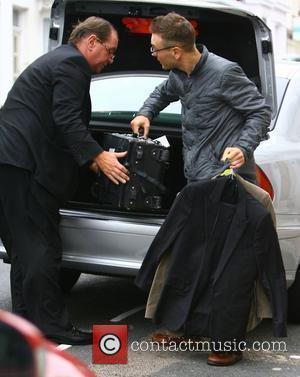 Samuel Preston arrives home from London after attending the Big Brother wrap party last night Brighton, England - 14.09.10