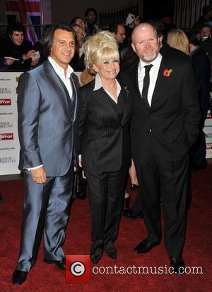 Scott Mitchell, Barbara Windsor and Steve Mcfadden