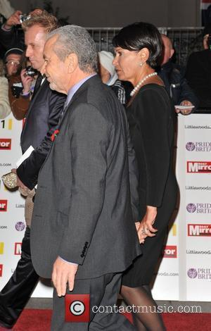 Lord Alan Sugar and guest Pride of Britain Awards held at the Grosvenor House - Arrivals. London, England - 08.11.10