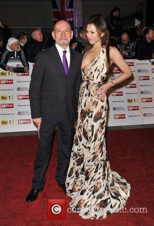 Ben Kingsley and Kelly Brook
