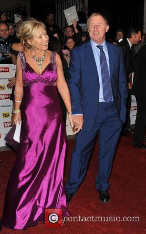 Chris Tarrant and guest Pride of Britain Awards held at the Grosvenor House - Arrivals. London, England - 08.11.10