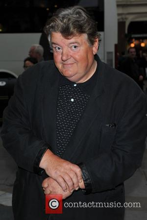 Robbie Coltrane Gala night of stage version of 'Yes, Prime Minister' held at the Gielgud Theatre - Arrivals. London, England...
