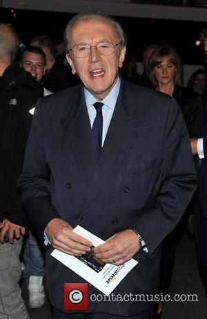 Sir David Frost Gala night of stage version of 'Yes, Prime Minister' held at the Gielgud Theatre - Arrivals. London,...