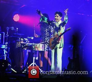 Prince performs live at the Roskilde Festival 2010 Roskilde, Denmark - 04.07.10