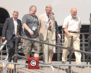 Hrh Prince Charles, Michael Eavis, Prince and Prince Charles