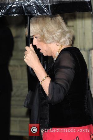 The Duchess Of Cornwall and Albert Hall