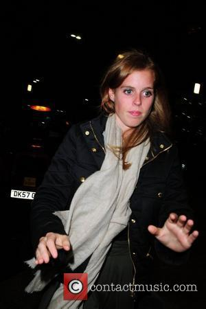 Princess Beatrice leaves Circo Bar and Restaurant where she was attending an aftershow party for Famous and Fearless that had...