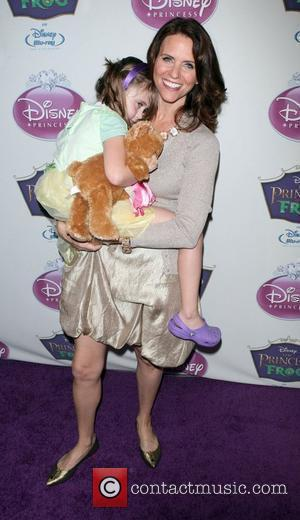 Amy Landecker  attend the official induction of Princess Tiana into the Disney Princess Royal Court and release of 'The...