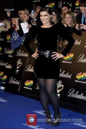 Nelly Furtado '40 Principales' 2009 Awards ceremony at the Palacio de los Deportes - Arrivals Madrid, Spain - 11.12.09