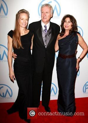 Suzy Amis, James Cameron and Paula Wagner