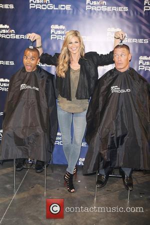 Tony Parker, Erin Andrews and John Cena