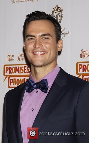 Cheyenne Jackson  Opening night after party for the Broadway musical 'Promises, Promises' held at The Plaza Hotel - Arrivals...